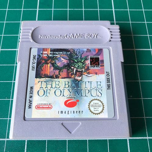 Battle of Olympus - Original Gameboy