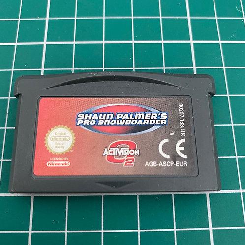 Shaun Palmer's Pro Snowboarding - Gameboy Advance