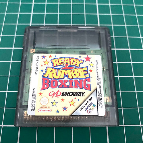 Ready 2 Rumble Boxing  - Gameboy Colour