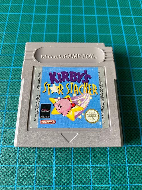 Kirby's Star Stacker - Original Gameboy