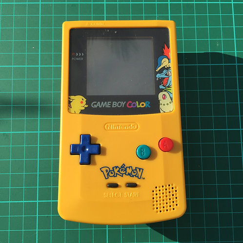 "Gameboy Colour Pokemon Console - ""Pikka"""