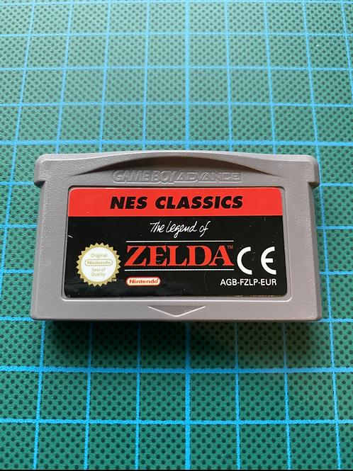 The Legend of Zelda Nes Classics - Gameboy Advance