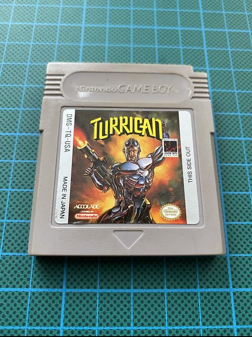 Turrican - Original Gameboy