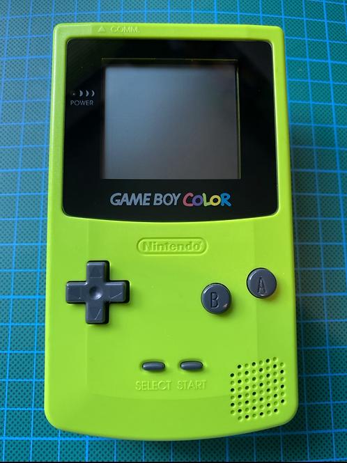 """Gameboy Colour - """"Kiwi Green"""""""
