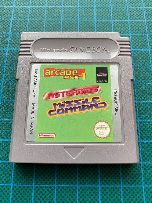 Arcade Classic 1 Asteroids & Missile Command - Original Gameboy