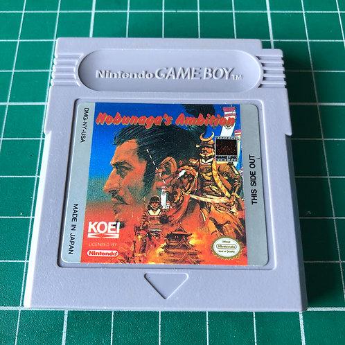 Nobunaga's Ambition - Original Gameboy
