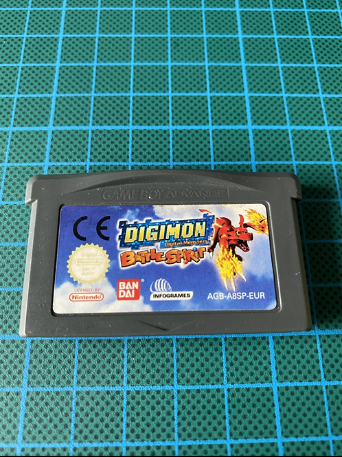 Digimon Battle Spirit - Gameboy Advance