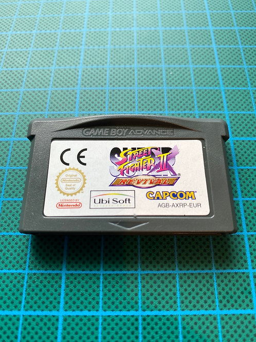 Street Fighter II Revival - Gameboy Advance