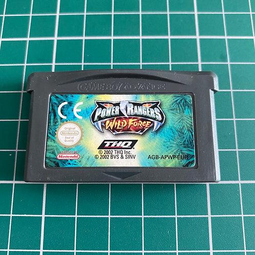 Power Rangers Wild Force - Gameboy Advance