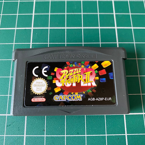 Super Puzzle Fighter II - Gameboy Advance