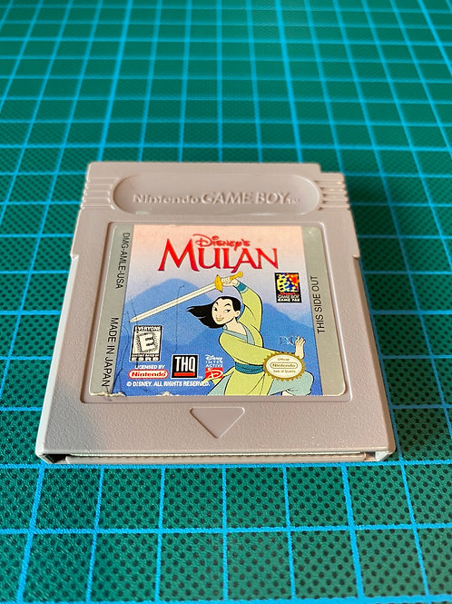 Mulan - Original Gameboy