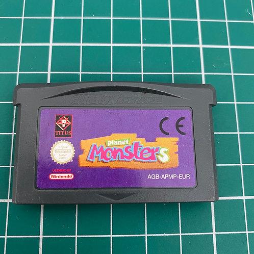 Planet Monsters - Gameboy Advance