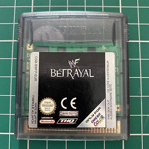 WWF Betrayal - Original Gameboy