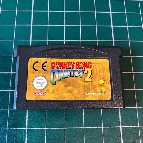 Donkey Kong Country 2 - Gameboy Advance