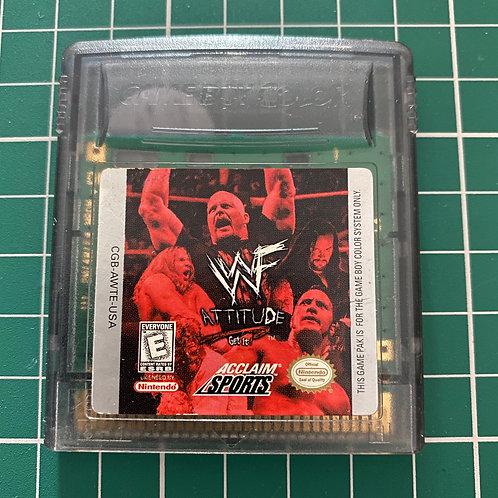 WWF Attitude - Gameboy Colour