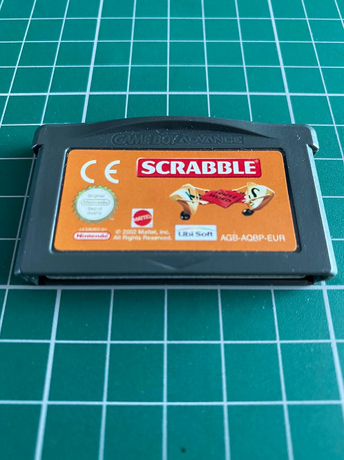 Scrabble - Gameboy Advance