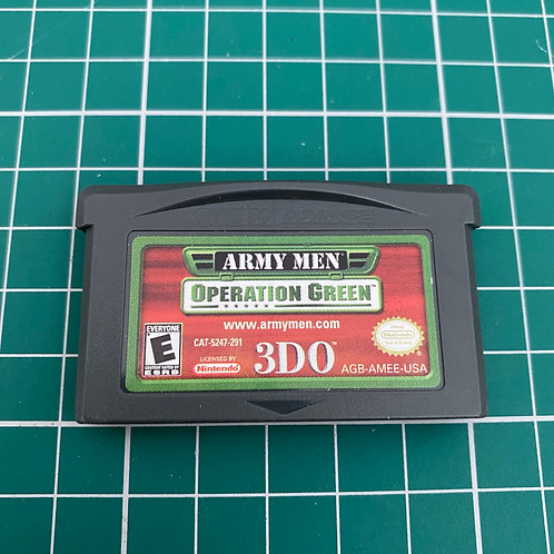 Army Men Operation Green - Gameboy Advance