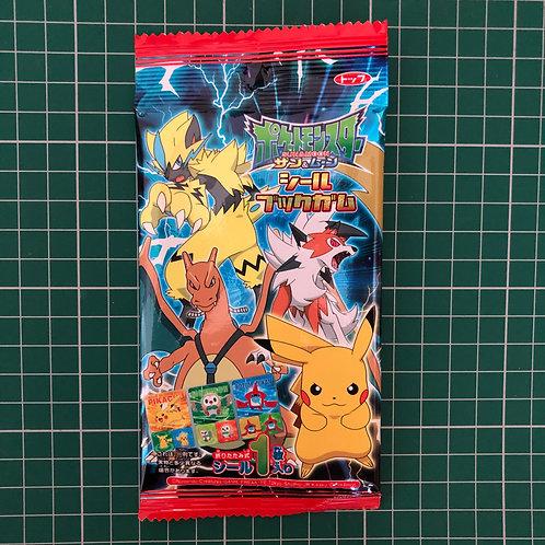 Pokemon Sticker Book and Gum