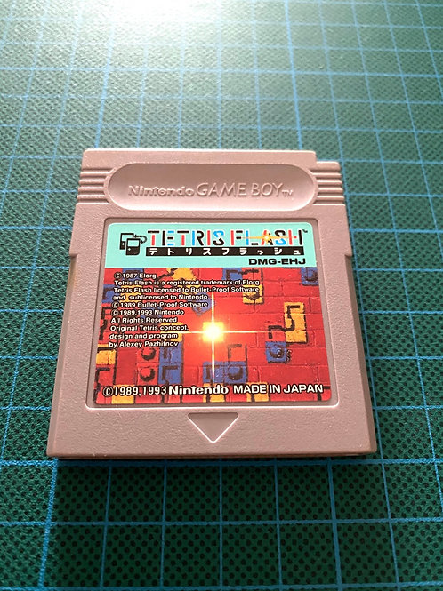 Tetris Flash - Japanese Original GameBoy