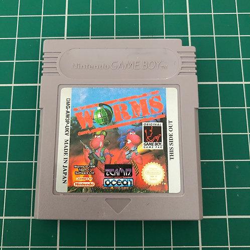 Worms - Original Gameboy