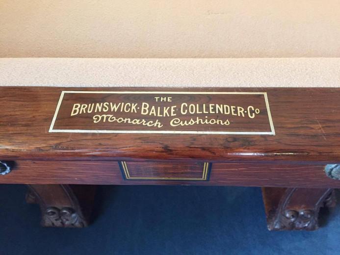1896 Brunswick Pfister