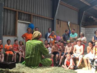 Optreden Bennie Bang Roemeense kinderen 2017