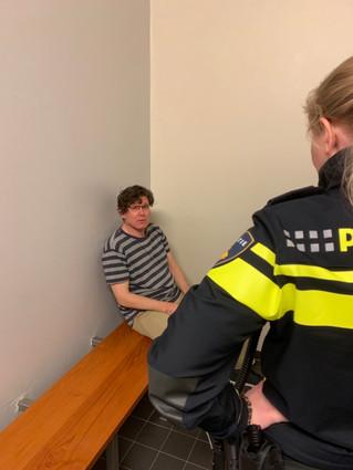Filmopname voor Ambulance Amsterdam