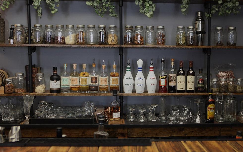 Strike Spirits bar