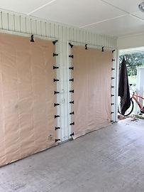 Condo gurricane fabric shutter miami dade discount easy storage
