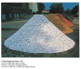 7 Stone Heaps for Stein, 1988