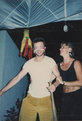 Benish and Kokolia, welcome party