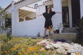 Zdenka Gabalova at Barbara Benish's house