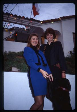 Barbara Benish and Zdenka Gabalova at Barnsdall Theatre