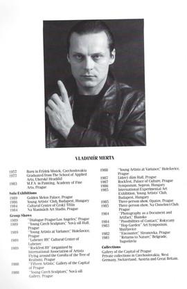 Vladimir Merta CV
