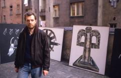 Jiri David and artwork