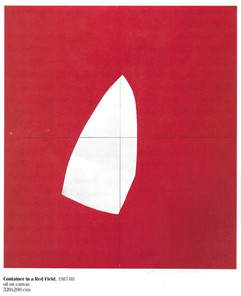 Container in a Red Field, 1987-88