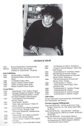 Stanislav Divis CV