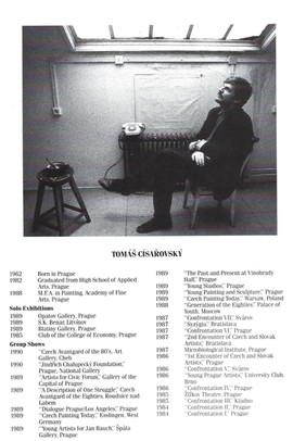Tomas Cisarovsky CV