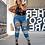 Thumbnail: Black Lace Plus Size Bodysuit