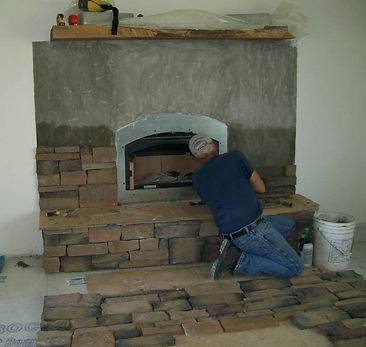 Soot Yourself Chimney Service Fireplace Install