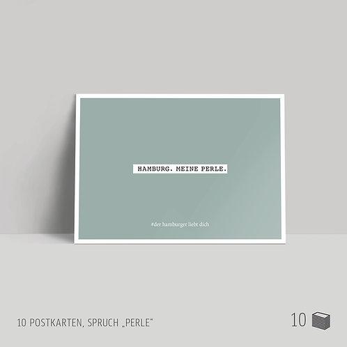 "Postkarten (10 Stück) ""Perle"""