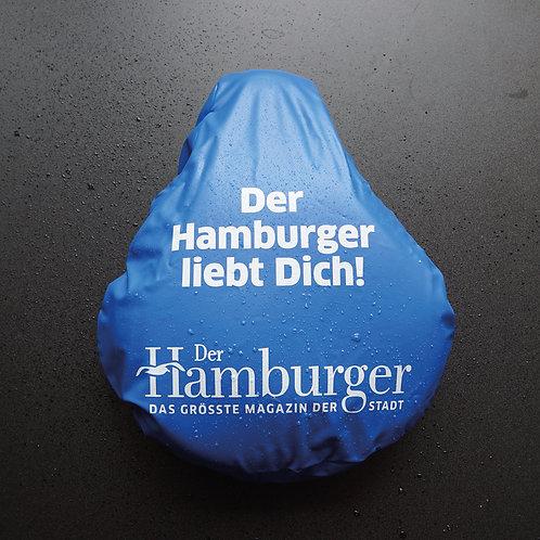 """Sattelschützer """"Der Hamburger liebt Dich"""""""