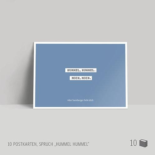 """Postkarten (10 Stück) """"Hummel Hummel"""""""