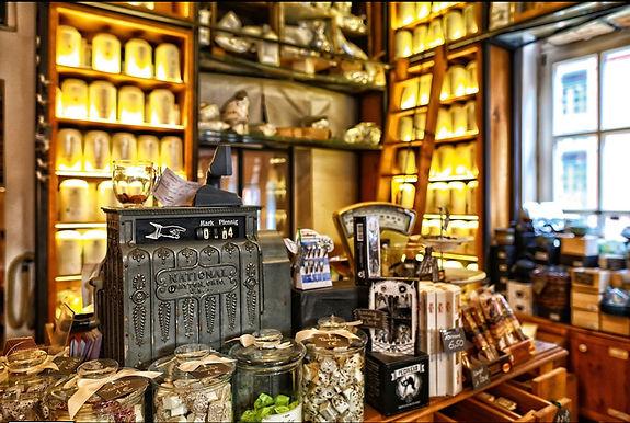Teekontor im Wasserschloss