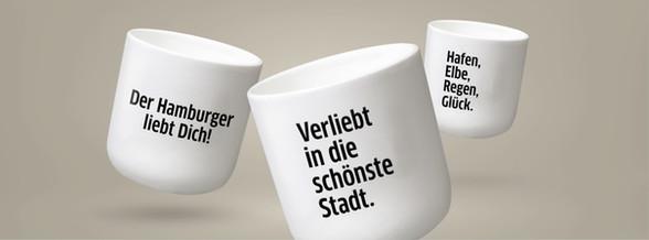 DER HAMBURGER Coffee Mugs