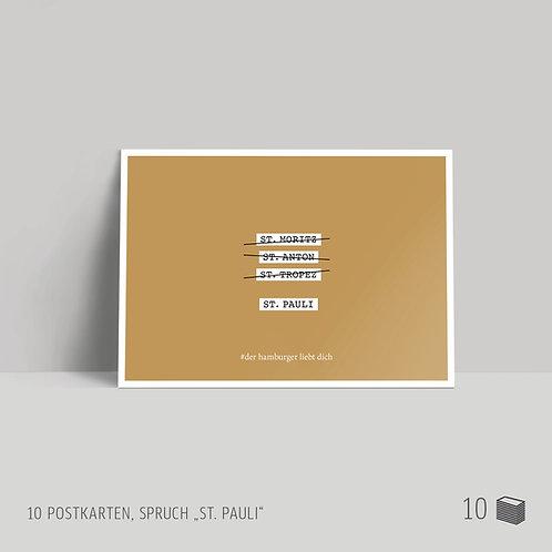 "Postkarten (10 Stück) ""St. Pauli"""