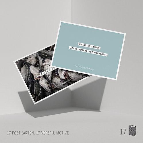 Postkarten (17 Stück) verschiedene Motive