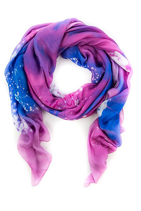 Pleiades Interstellar Scarves