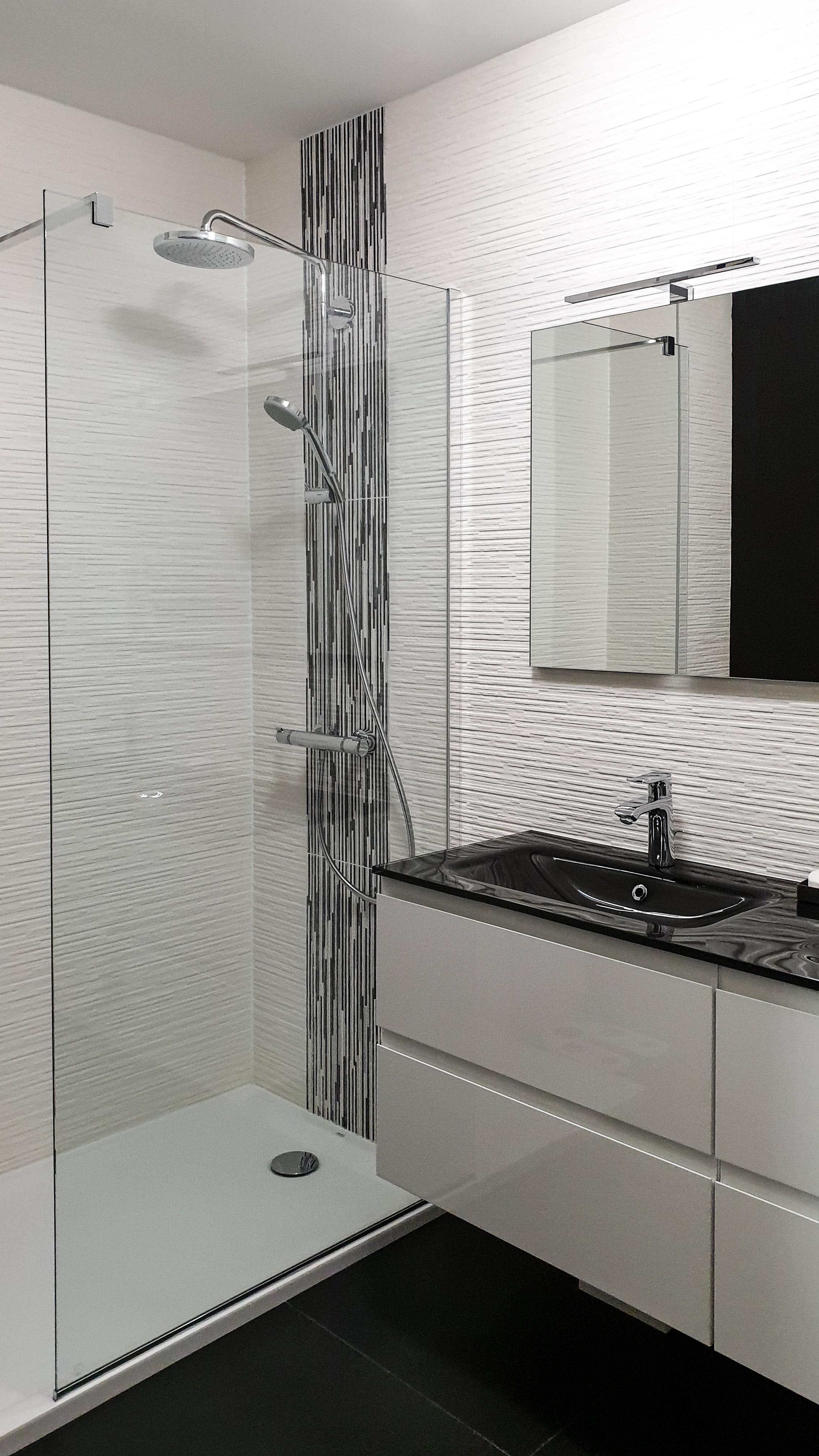 Renovation salle de bain appartement près de Lyon
