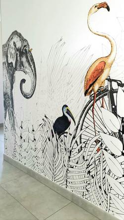 Papier peint panoramique Metrozoo